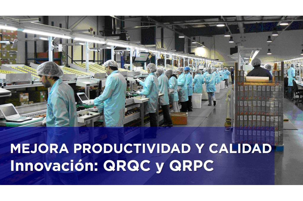 MEJORA PRODUCTIVIDAD Y CALIDAD: INNOVACION: QRQC y QRPC.