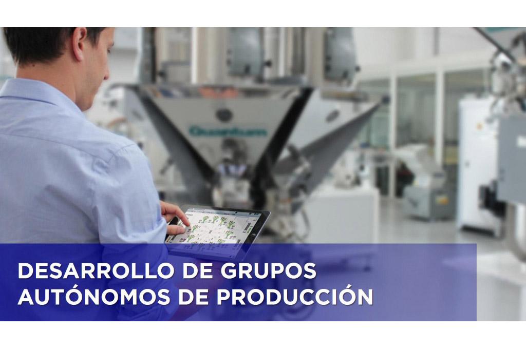 DESARROLLO DE GRUPOS AUTÓNOMOS DE PRODUCCIÓN