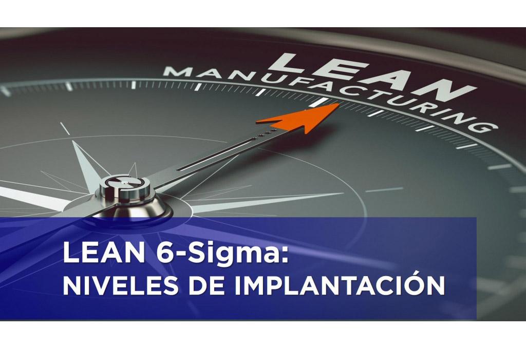 LEAN 6-Sigma. NIVELES DE IMPLANTACIÓN