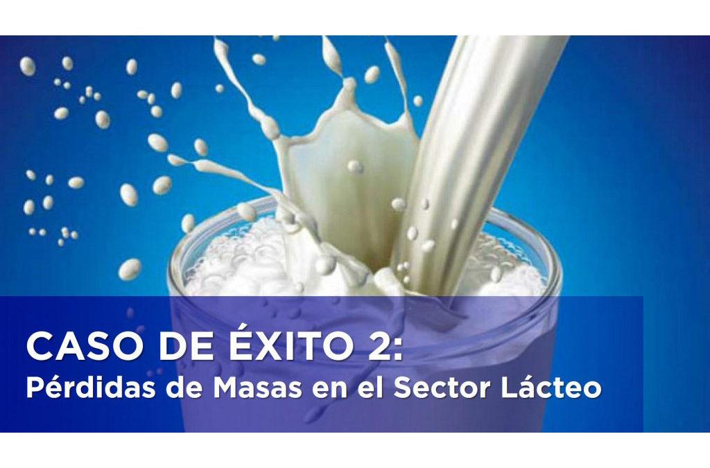 CASO DE ÉXITO 2: Pérdidas de Masas en el Sector Lácteo.