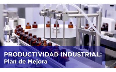 PRODUCTIVIDAD INDUSTRIAL. PLAN DE MEJORA