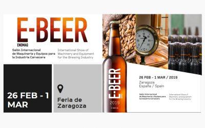 E-BEER, Salón Internacional de Maquinaria y Equipos para la Industria Cervecera