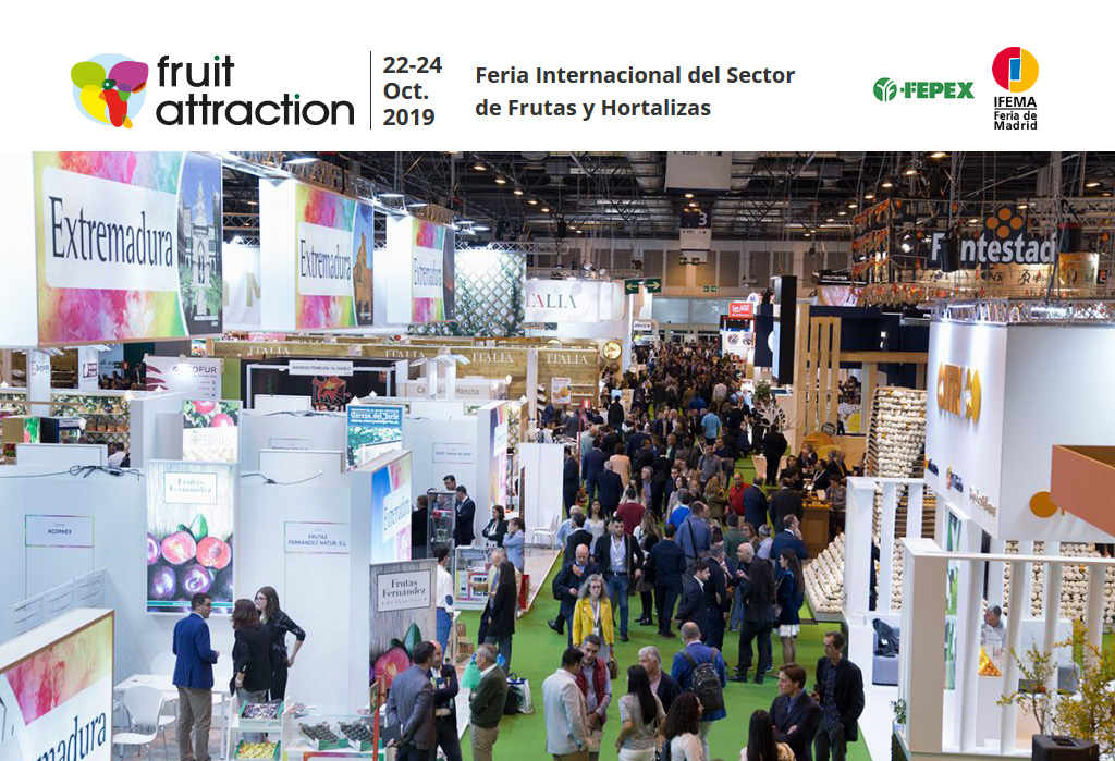 Fruit Attraction. Feria Internacional del Sector de Frutas y Hortalizas