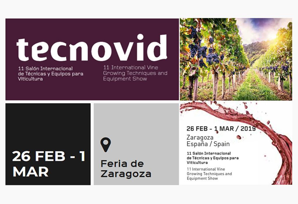 TECNOVID, 11 Salón Internacional de Técnicas y Equipos para Viticultura