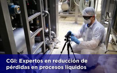 CGI: Expertos en reducción de pérdidas en procesos líquidos