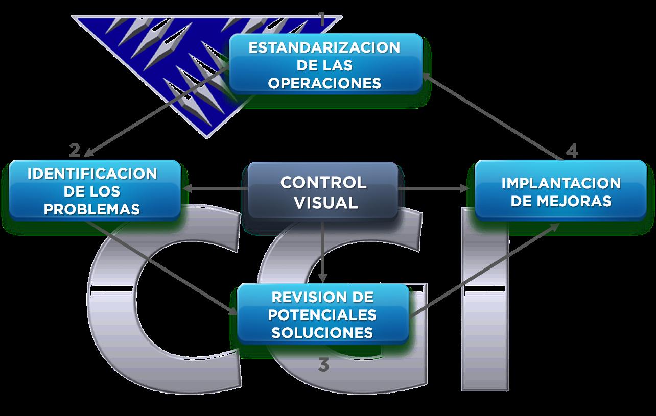 Control visual de las Mejoras