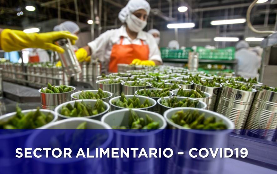El sector alimentario resiste a la crisis del COVID-19