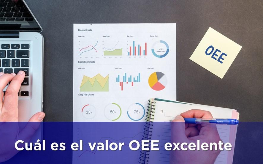 """¿Cuál es el valor del indicador OEE """"Excelente""""?"""