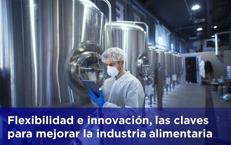 Innovación tecnológica para mejorar la eficiencia de la industria alimentaria